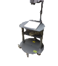 KONGcart 2000 customized to secure WoldVision Visualizer