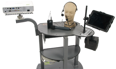 KONGcart Bundle w Casio XJ-M146, Anchor Audio Delux Speaker w wireless mic and tansmitter, & MONKEYmount