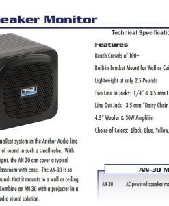Ancchor Audio 30W