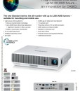Casio Laser LED XJ-M146 Spec Sheet pg1