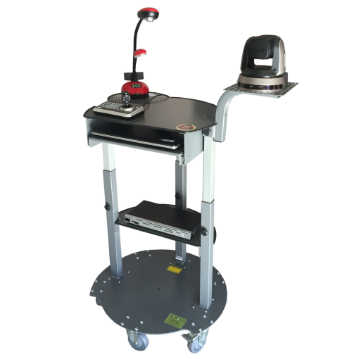 Mobile Security Camera Cart